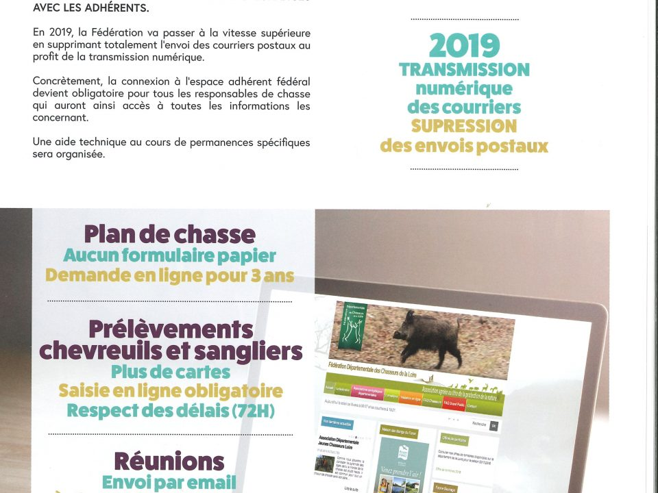 Accueil Federation Departementale Des Chasseurs De La Loire Fdc42